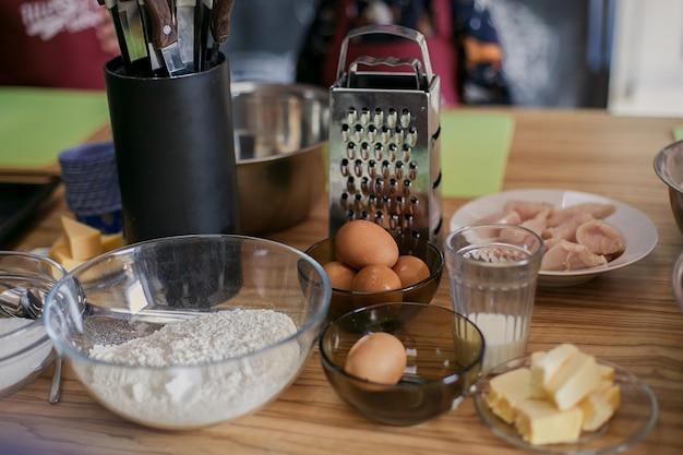 Produkte eier mehl butter rezept.