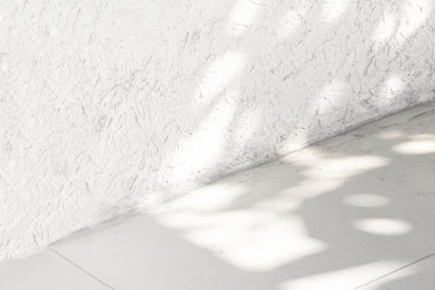 Produkthintergrundwand aus weißem marmor