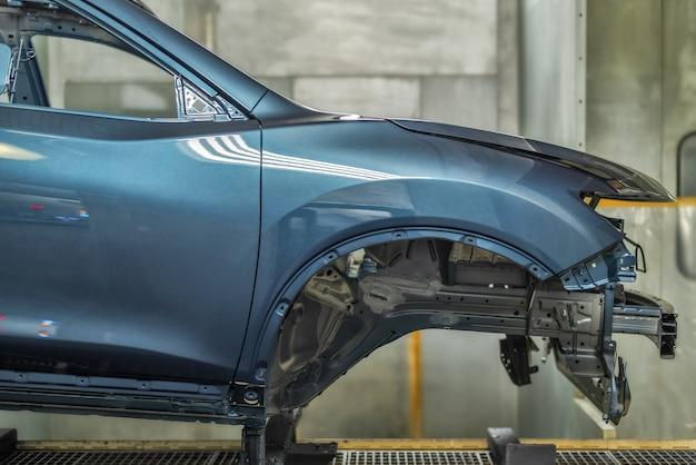 Produktionslinie der autofabrik