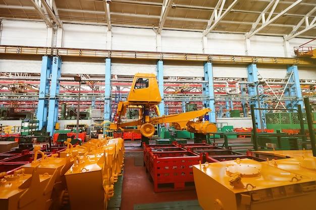 Produktionslinie für große fahrzeuge im werk