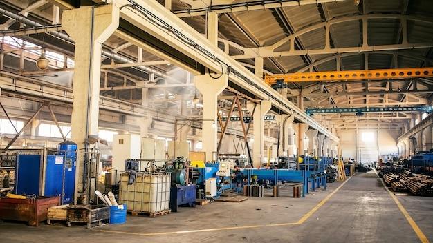 Produktionsstätte. ausrüstung für die produktion