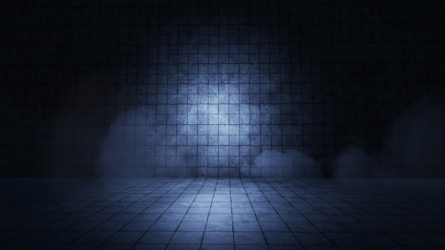 Produktpräsentation spotlight-hintergrund-3d-rendering