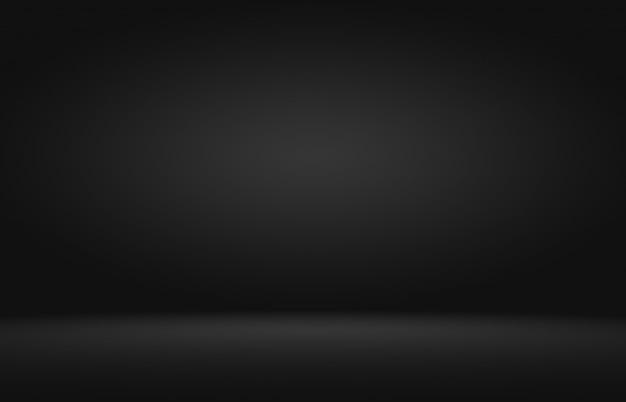 Produktschaufensterscheinwerfer auf schwarzem farbverlaufshintergrund.