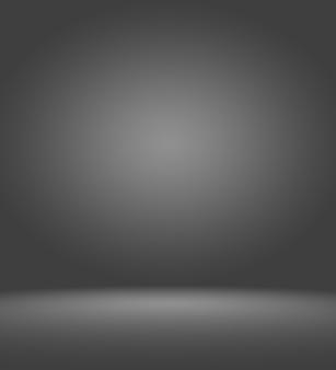 Produktschaufensterscheinwerfer auf schwarzem hintergrund mit farbverlauf.