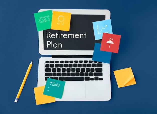 Professionelle dienstleistungen finanzplanung für investitionen in den ruhestand