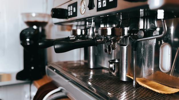 Professionelle kaffeemaschine.