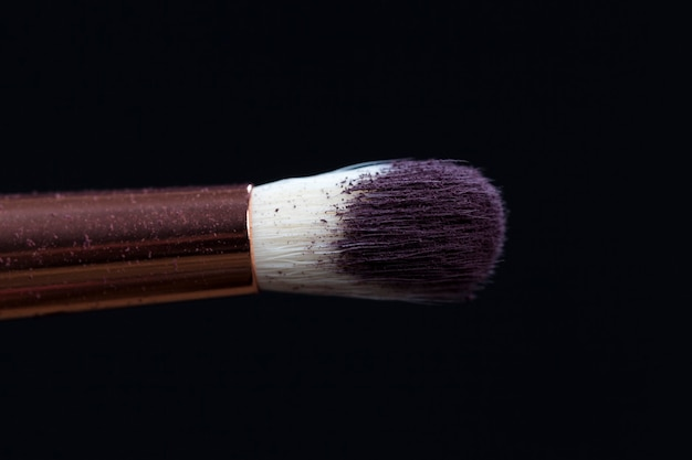 Professionelle kosmetikpinsel und dekorative kosmetik Premium Fotos