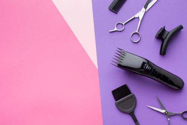 Professioneller haarschneider kopie raum