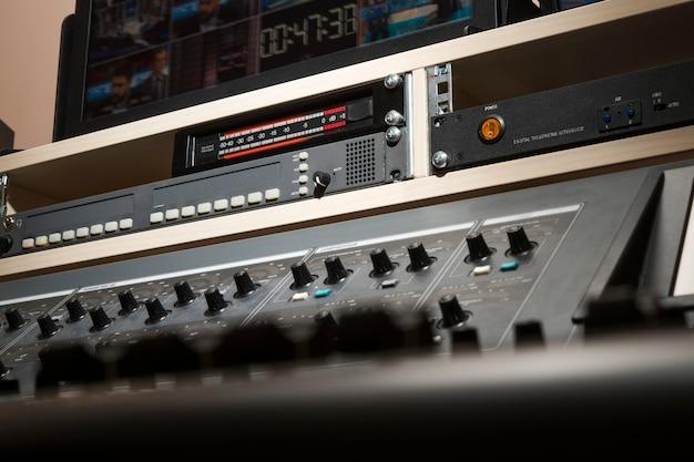 Professionelles audio-mischpult