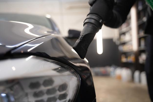Professionelles autowaschkonzept