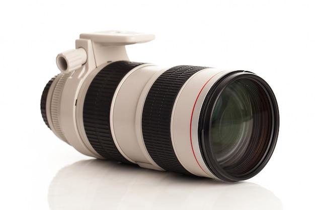 Professionelles objektglas für die kamera
