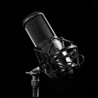 Professionelles studiomikrofon.