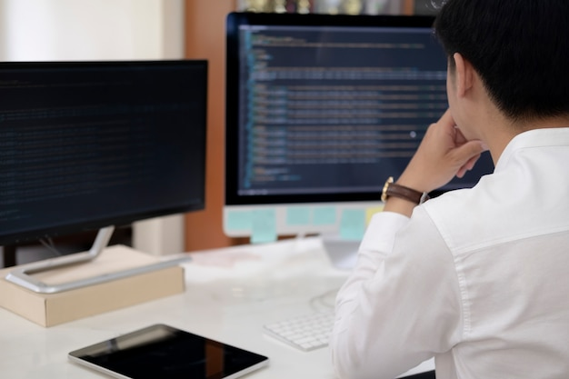 Programmierer ist codierungs- und programmiersoftware