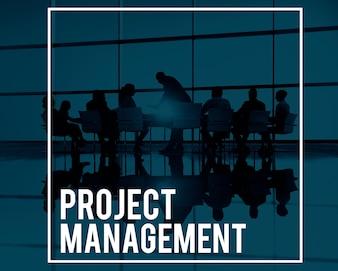 Projektmanagement Manager Planung Prozesse Konzept