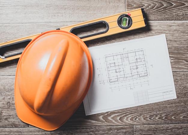 Projektzeichnungen und werkzeuge