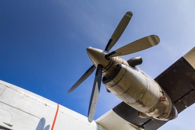 Propeller alt außer betrieb genommen