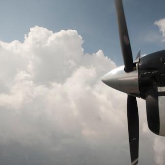 Propeller eines flugzeuges
