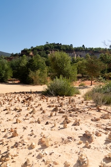 Provence rustrel das colorado französisch provencal frankreich