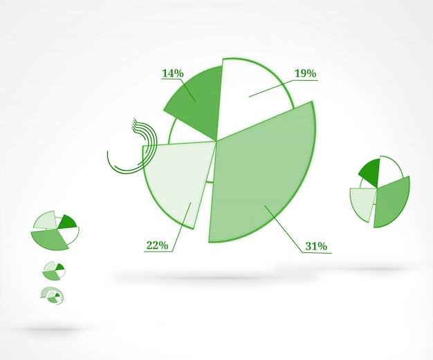 Prozentuale grafische darstellung