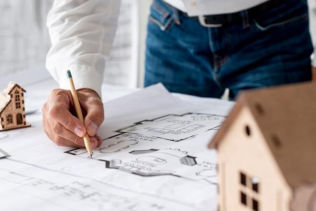 Prozess der entwicklung eines architekturprojekts