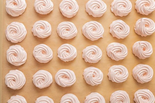 Prozess der herstellung von marshmallow