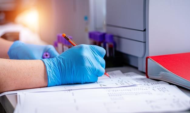 Prüfung im labor