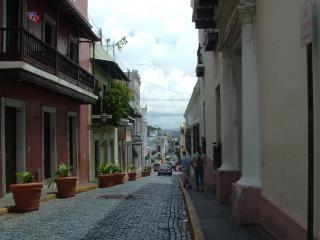 Puertoricanischen sehenswürdigkeiten, schmale