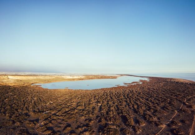 Punta entinas-sabinar ist eine natürliche stätte in almerimar, el ejido, almeria, spanien