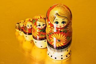 Puppen, matrjoschka