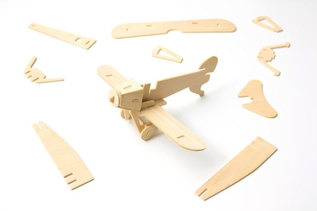 Puzzle flugzeug stück, konstruktion und entwicklung