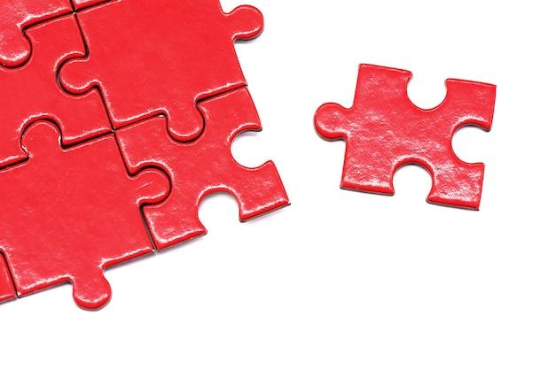 Puzzle und puzzle und erfolgsspiel und geschäftskonzept