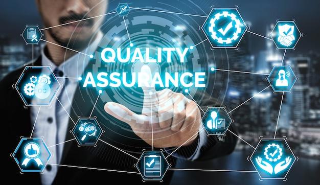 Qa-qualitätssicherungs- und qualitätskontrollkonzept