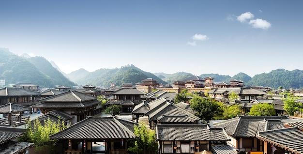 Qin und han alter stadtpark, guizhou