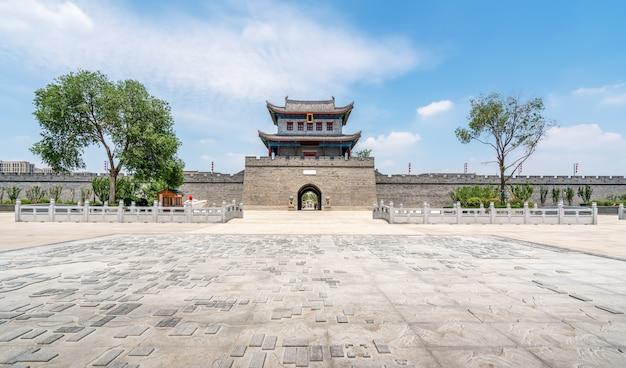 Qingdao jimo ancient city gebäude