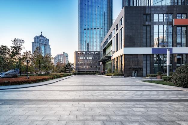 Qingdao moderne städtische architekturlandschaft