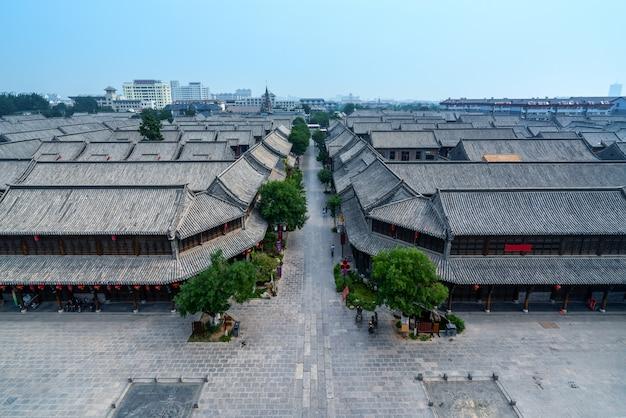 Qingzhou-alte stadt, shandong-provinz, china