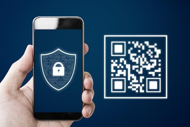 Qr-code-scannen mit dem smartphone