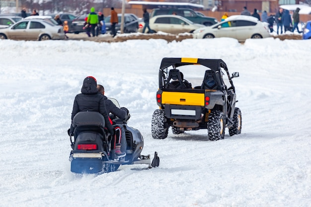 Quad-bikes zu mieten im snow resort bakuriani