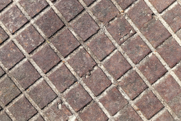 Quadratische alte rostige metalloberfläche, abstrakter hintergrund