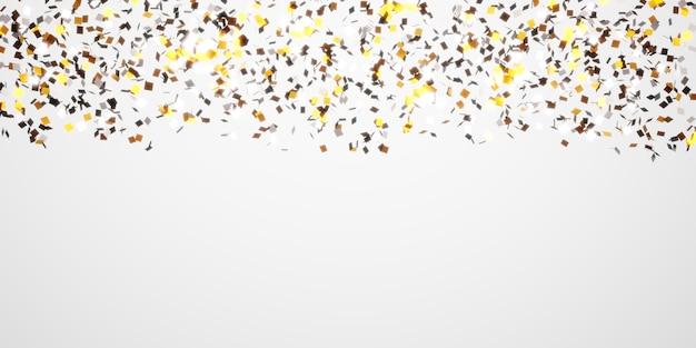 Quadratische glänzende reflektierende folie abstrakter hintergrund 3d illustration
