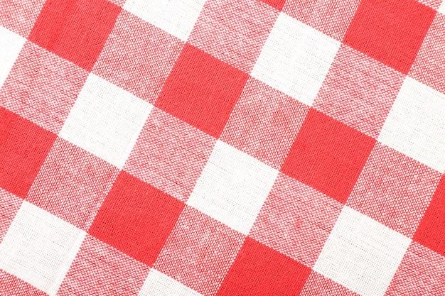 Quadratische serviette aus der nähe
