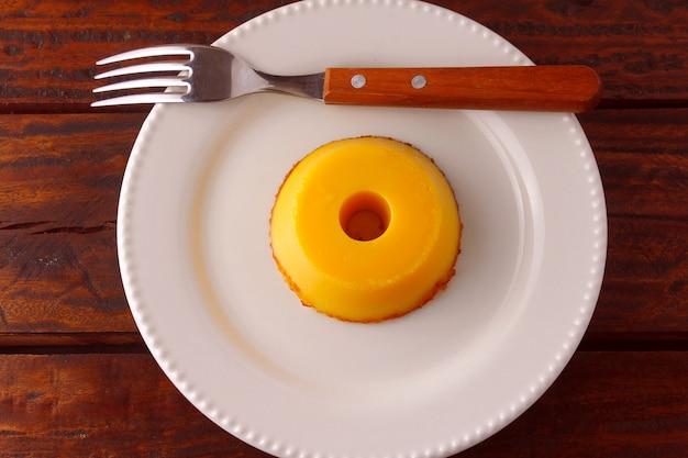 Quindim, traditionelles brasilianisches dessert