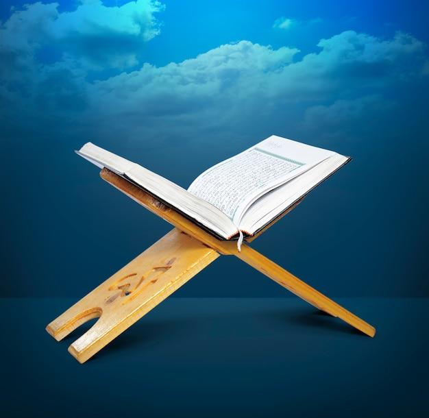 Quran-stand öffnen