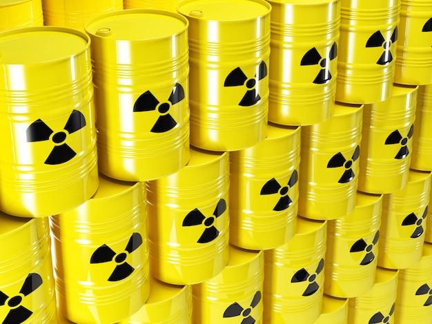 Radioaktives fass