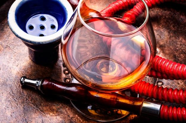 Räucherhuka mit cognac-geschmack