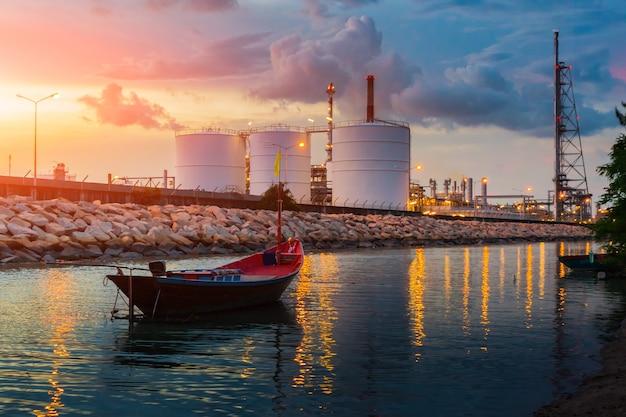 Raffinerie öl- und gasindustrie