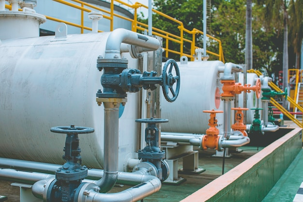Raffinerieanlagenausrüstung für rohr viele farben leitungsöl und tank am pflanzenöldrucksicherheitsventil selektiv