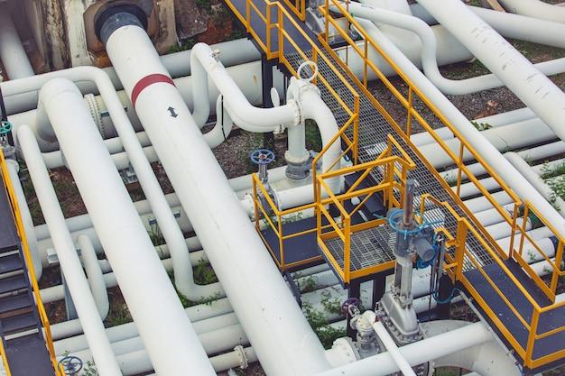 Raffinerieanlagenausrüstung von oben für pipeline-öl- und gasventile am selektiven drucksicherheitsventil der gasanlage
