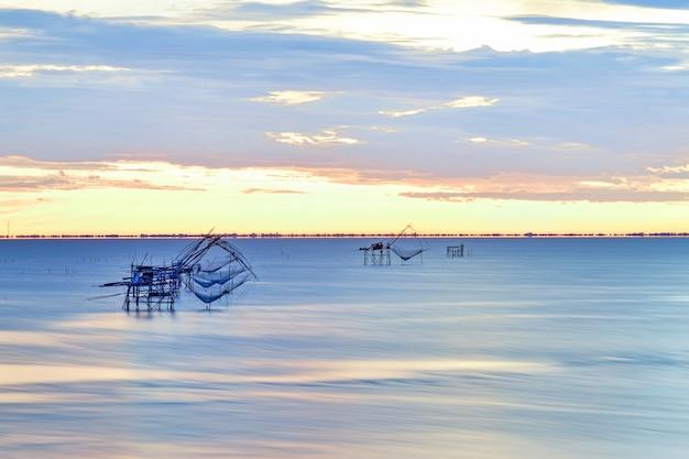 Raft dip net werkzeug zum fangen von fischen