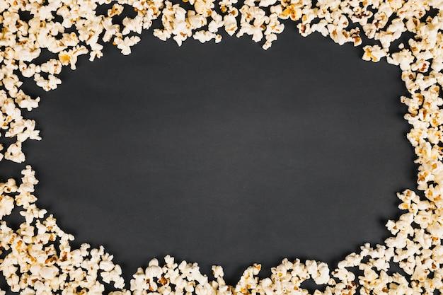 Rahmen aus popcorn
